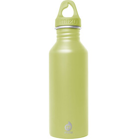 MIZU M5 Bottle with Lime Loop Cap 500ml green